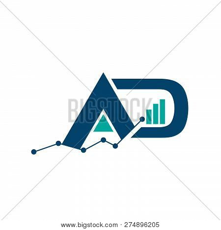 Initial Letter A And P Business Abstract Logo Symbol. Vertical Shapes Sign Abstract Logo.design Elem