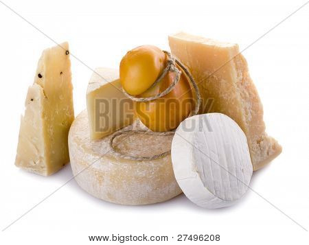 variety of cheese, parmesan cheese, cheese with pepper,brie, scamorza, shep cheese