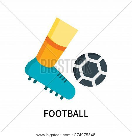 Football Icon Isolated On White Background. Football Icon Simple Sign. Football Icon Trendy And Mode