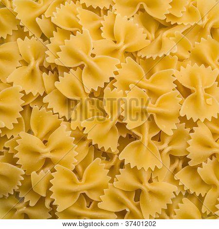 Bowtie Pasta Background