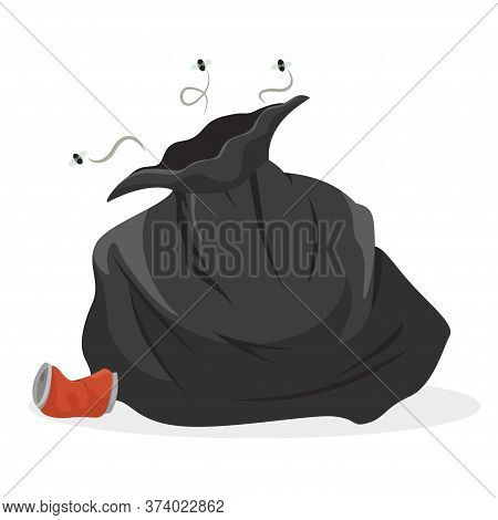 Garbage Bag, Full Trash Nasty Sack Stinking