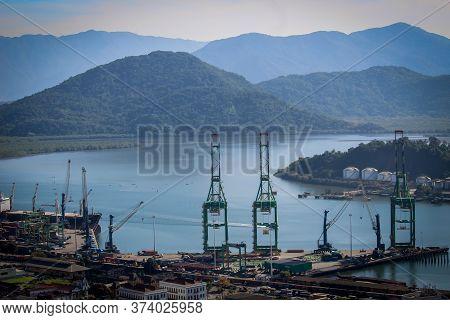 Panoramic View Of