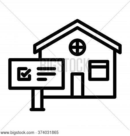 Rental Property Icon. House For Rent Sign. Real Estate Concept.