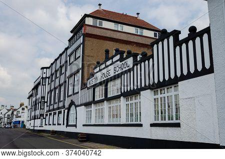 Parkgate, Wirral, Uk: Jun 17, 2020: Mostyn House School Was Opened As A Boys Boarding School. Later