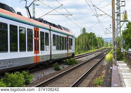 Koblenz Germany, 22 June 2020. An Electric Passenger Train Belonging To The Vias Gmbh Carrier, Arriv