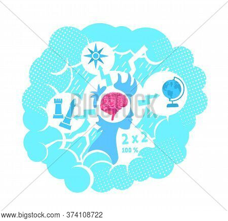 Tough Choices Flat Concept Vector Illustration. Making Difficult Decision. 2d Cartoon Character For