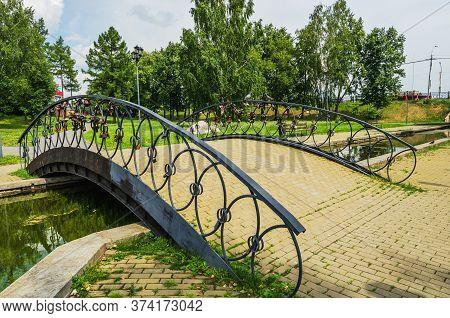 Bridge In The City Park