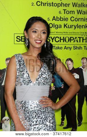 LOS ANGELES - OCT 30:  Samantha Cutaran  at the