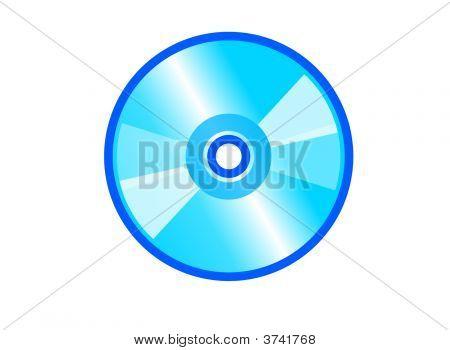 Blue Compact Disc