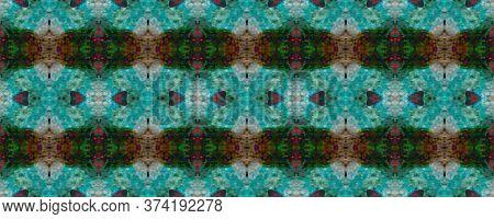 Original Tile Template.  Marrakech Texture Design. Simple Cotton Print. Pastel Seamless Folk Embroid