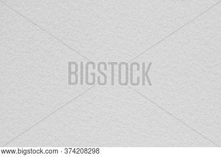 Light Gray Fleecy Woolen Textile Background Closeup For Design