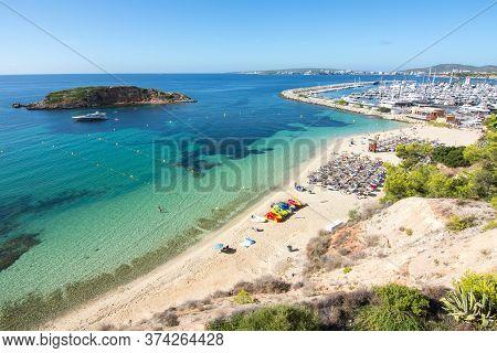 Portals Nous Beach (playa) And Marine, Mallorca, Spain