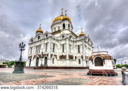 Cathedral Of Christ The Savior (khram Khrista Spasitelya), Moscow, Russia