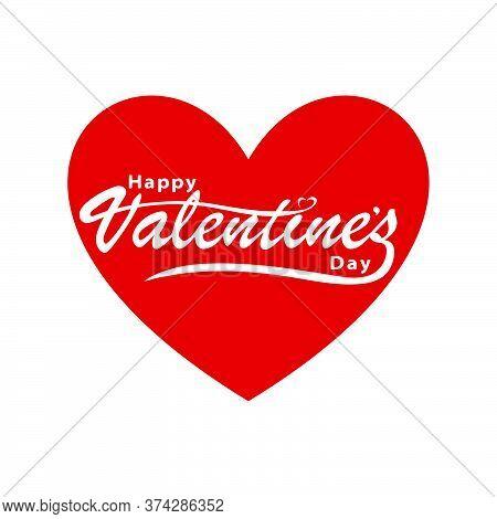 Valentine's Day Valentine, Holiday Celebrated February 14. Vector Illustration.