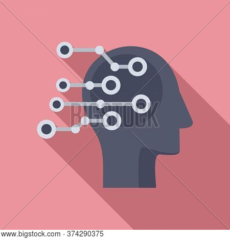 Artificial Intelligent Icon. Flat Illustration Of Artificial Intelligent Vector Icon For Web Design