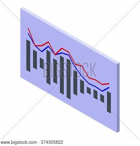 Broker Banner Icon. Isometric Of Broker Banner Vector Icon For Web Design Isolated On White Backgrou
