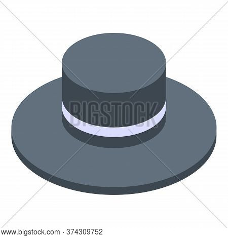 Sweden Hat Icon. Isometric Of Sweden Hat Vector Icon For Web Design Isolated On White Background