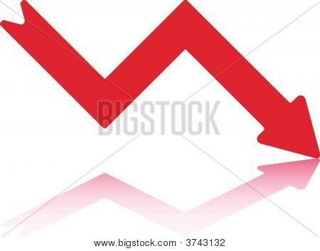 Decline Arrow