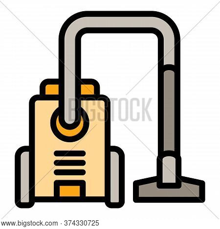 Home Vacuum Cleaner Icon. Outline Home Vacuum Cleaner Vector Icon For Web Design Isolated On White B