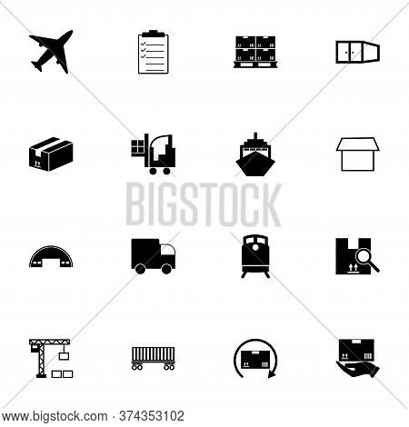 Cargo Icon - Expand To Any Size - Change To Any Colour. Perfect Flat Vector Contains Such Icons As V