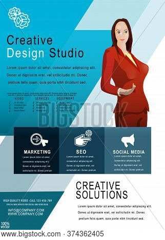 Recruitment Design Poster Or Banner Template. 2019 Job Or Hire Vacancy Advertisement. Concept Of Fly