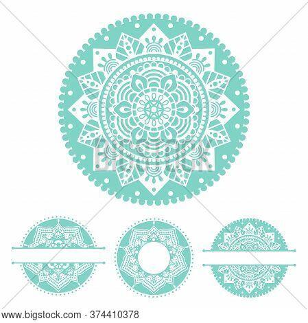 Mandala, Hand Drawn Vector Illustration With Traditional Balinese, Indian Pattern, Yoga Surface Desi
