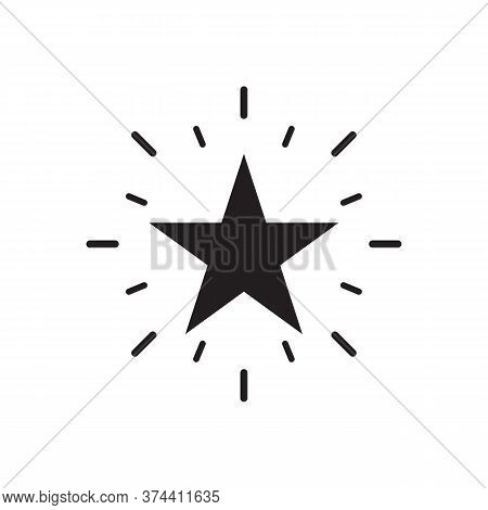 Excellent Quality Star Icon Vector For Graphic Design, Logo, Web Site, Social Media, Mobile App, Ui