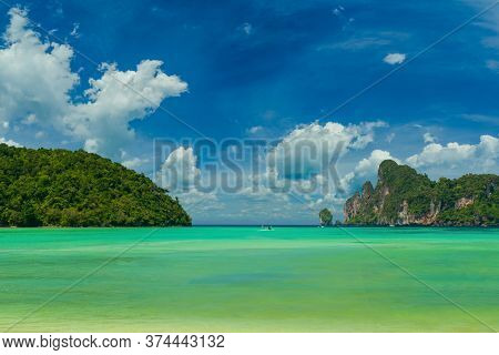 Ko Phi Phi don beach in Krabi Thailand