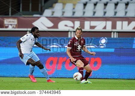 Torino (italy) 30th June 2020 . Italian Football League Serie A.  Torino Fc Vs Ss Lazio. Cristian An