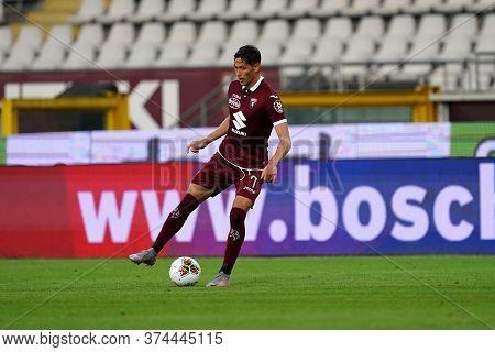 Torino (italy) 30th June 2020 . Italian Football League Serie A.  Torino Fc Vs Ss Lazio. Sasa Lukic