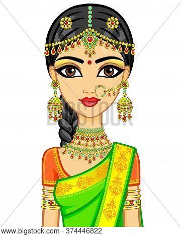 Ancient, Architecture, Asia, Bindi, Bride, Building, Card, Cartoon, Costume, Culture, Decorative, De