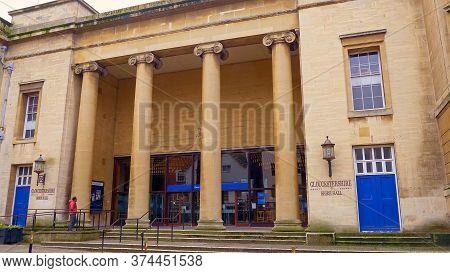 Gloucestershire Shire Hall In Gloucester England - Gloucester, United Kingdom - January 1, 2019