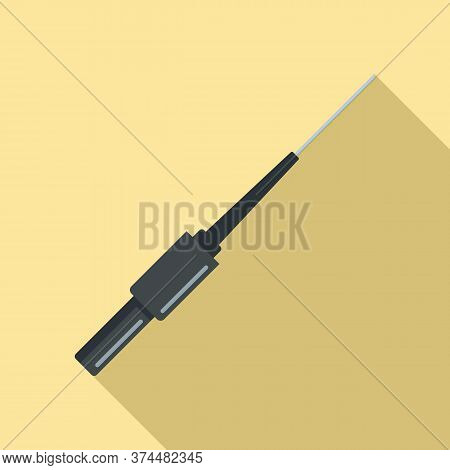 Piercing Needle Icon. Flat Illustration Of Piercing Needle Vector Icon For Web Design
