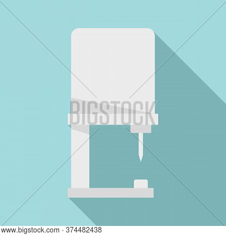 Piercing Equipment Icon. Flat Illustration Of Piercing Equipment Vector Icon For Web Design