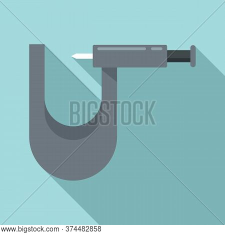 Piercing Tool Fix Icon. Flat Illustration Of Piercing Tool Fix Vector Icon For Web Design