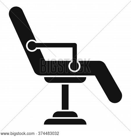 Piercing Salon Chair Icon. Simple Illustration Of Piercing Salon Chair Vector Icon For Web Design Is