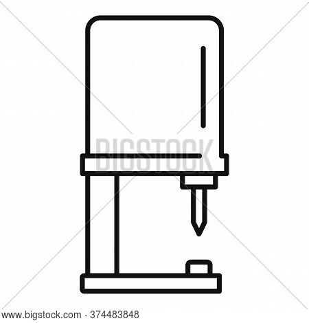Piercing Equipment Icon. Outline Piercing Equipment Vector Icon For Web Design Isolated On White Bac