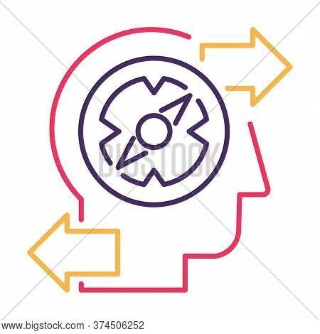 Finding Problem Solution Thin Line Vector Icon