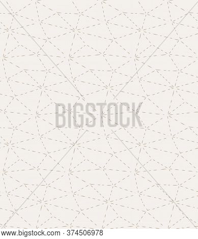 Repeat Retro Vector Triangular Deco Pattern. Repetitive Geometric Graphic, Triangle Repetition Textu