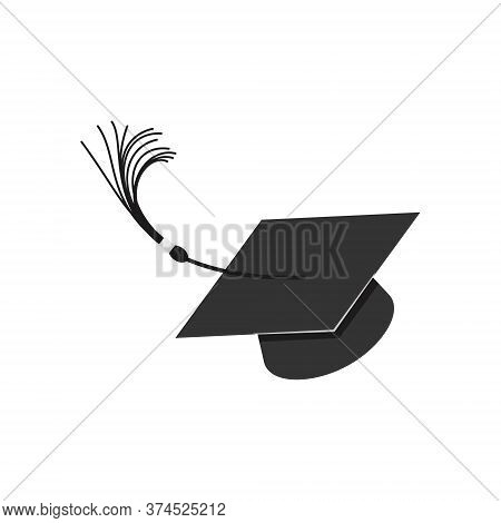 Thrown Up Graduation Hat, Square Academic Cap, Mortarboard, Headgear For Students Graduating From Co