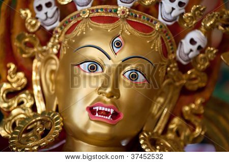 Statue of goddes, Nepal