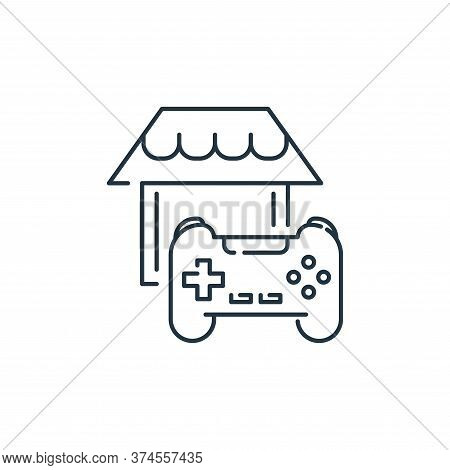 gaming icon isolated on white background from stay at home collection. gaming icon trendy and modern