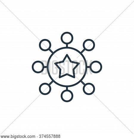 teamwork icon isolated on white background from leadership collection. teamwork icon trendy and mode