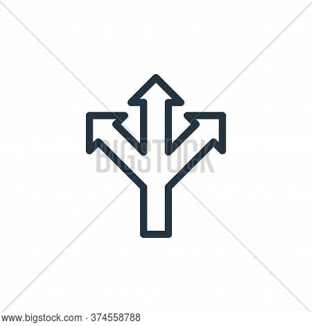 direction icon isolated on white background from navigation collection. direction icon trendy and mo