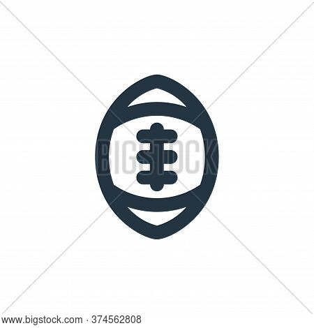 american football icon isolated on white background from sport collection. american football icon tr