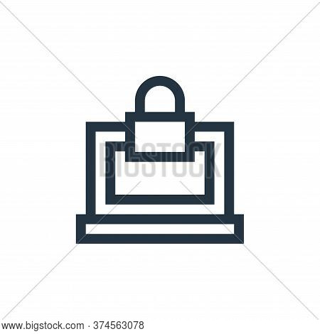 lock icon isolated on white background from insurance collection. lock icon trendy and modern lock s