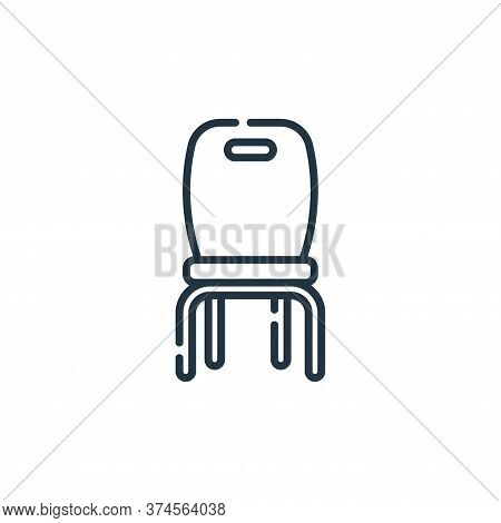 chair icon isolated on white background from academy collection. chair icon trendy and modern chair
