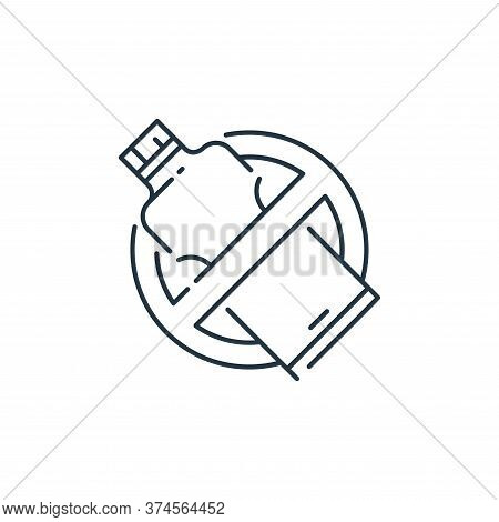 bottle icon isolated on white background from mother earth day collection. bottle icon trendy and mo