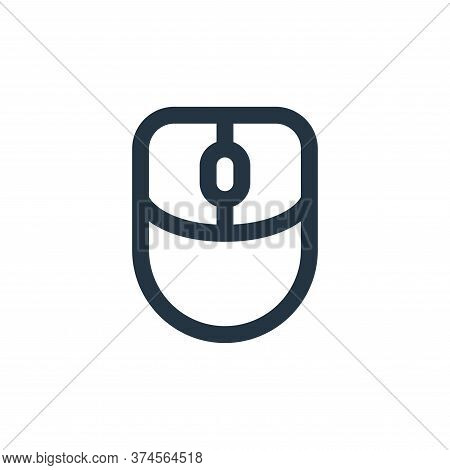 mouse icon isolated on white background from user interface collection. mouse icon trendy and modern