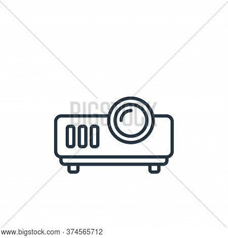 projector icon isolated on white background from cinema collection. projector icon trendy and modern
